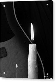 Candle Light Serenade Acrylic Print