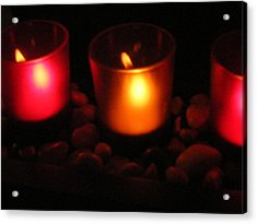 Candle Magick Acrylic Print