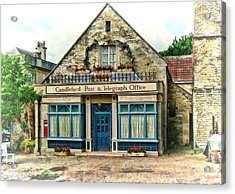 Candleford Post Office Acrylic Print