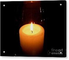 Candlelight Moments Acrylic Print