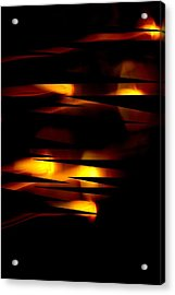 Acrylic Print featuring the mixed media Candlelight by Steve Godleski