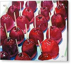 Candy Apples Acrylic Print