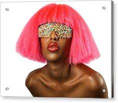 Candy Eyes Acrylic Print