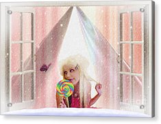 Candy Kisses Acrylic Print by Liane Wright