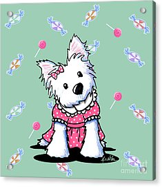 Candy Shop Cutie Acrylic Print by Kim Niles