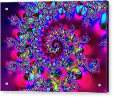 Candy Swirl Acrylic Print