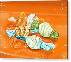 Candy Acrylic Print by Veronica Minozzi