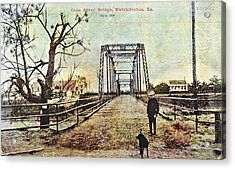Cane River Bridge C1909 Acrylic Print