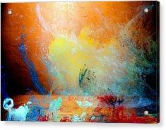 Canis De Galactic Acrylic Print by Petros Yiannakas