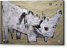 Canis Et Sidera Acrylic Print by Mark M  Mellon