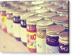 Canned Acrylic Print by Amy Tyler