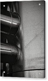 Canned Heat Acrylic Print by Odd Jeppesen