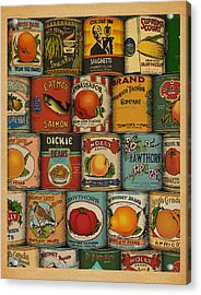 Canned Acrylic Print by Meg Shearer