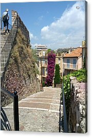 Cannes French Riviera II Acrylic Print by Shesh Tantry