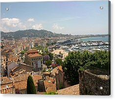 Cannes French Riviera Iv Acrylic Print by Shesh Tantry
