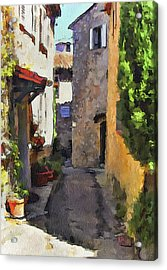 Cannes Mougins 2 Acrylic Print