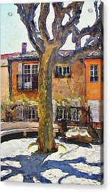 Cannes Mougins 4 Acrylic Print
