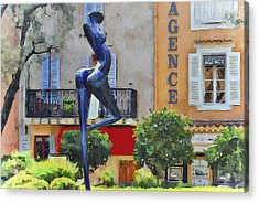 Cannes Mougins 5 Acrylic Print