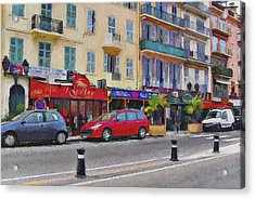 Cannes Streets 2 Acrylic Print