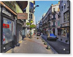 Cannes Streets 3 Acrylic Print