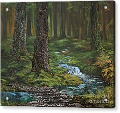 Cannock Chase Forest Acrylic Print by Jean Walker