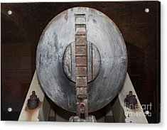 Cannon At San Francisco Fort Point 5d21500 Acrylic Print by Wingsdomain Art and Photography