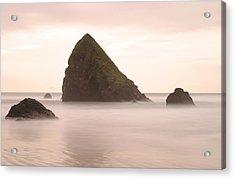 Cannon Beach - 1 Acrylic Print by Maxwell Amaro