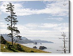 Cannon Beach At Ecola State Park Acrylic Print by David Gn