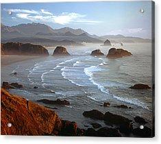 Cannon Beach At Sunset Acrylic Print