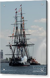 Acrylic Print featuring the photograph Cannon Fire by Mike Ste Marie