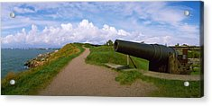 Cannon In A Fort, Suomenlinna Acrylic Print