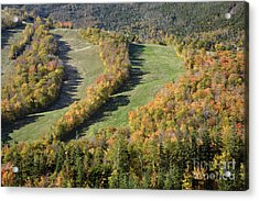 Cannon Mountain - White Mountains New Hanpshire Acrylic Print by Erin Paul Donovan