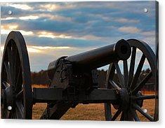 Cannon Of Manassas Battlefield Acrylic Print