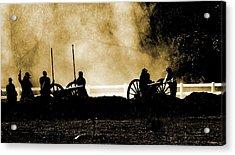 Cannon Ready 3 Acrylic Print by Chuck Kemp