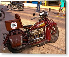 Cannonball Indian #115 Acrylic Print