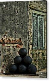 Cannonballs Acrylic Print