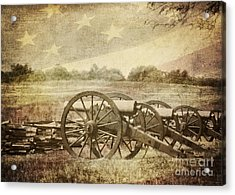 Cannons At Pea Ridge Acrylic Print