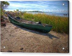 Canoe At Cedar Key Acrylic Print