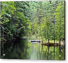 Canoe Ride Acrylic Print