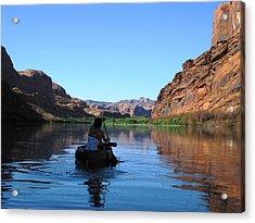 Canoe Trip Acrylic Print