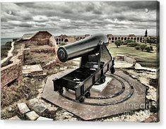 Canon Fire 360 Acrylic Print by Adam Jewell