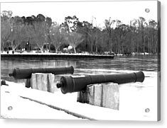 Canons Acrylic Print by Carolyn Ricks