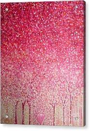 Canopy Of Love Acrylic Print