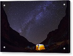 Canopy Of Stars Acrylic Print by Aaron Bedell