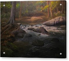 Can't Step Into The Same River Twice Acrylic Print