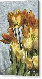 Can't Wait For Spring Acrylic Print by Trish Tritz