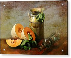 Cantaloupe Acrylic Print