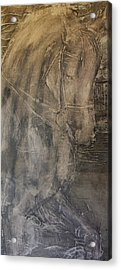 Canter Pirouette II  Acrylic Print by Adrian McMillan