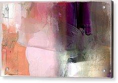 Canterbury Purple Acrylic Print