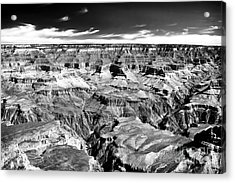 Canyon Craters Acrylic Print by John Rizzuto